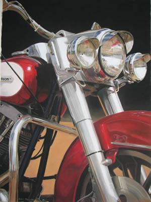 Steve's Harley
